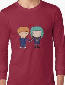 Scott Pilgrim - Scott and Ramona Long Sleeve T-Shirt