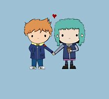 Scott Pilgrim - Scott and Ramona Unisex T-Shirt
