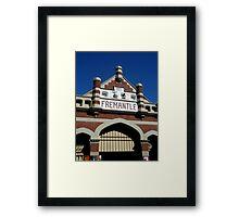 Fremantle Market Building Framed Print