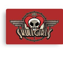 SkullGirls Logo Canvas Print