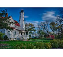 Lighthouse in the Park Photographic Print