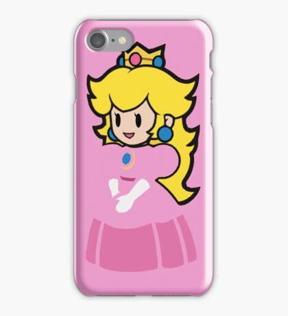 Minimalist Princess Peach iPhone Case/Skin