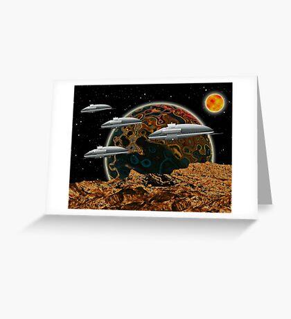 The Fleet Greeting Card