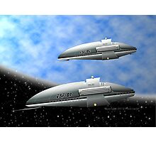 Space Destroyers Photographic Print