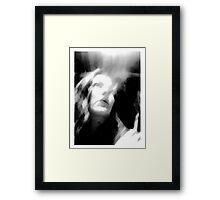 Like Smoke Rising Framed Print