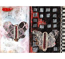 Altered Book 36 Photographic Print