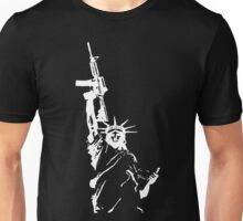Statue of Liberty with m4a1 Unisex T-Shirt