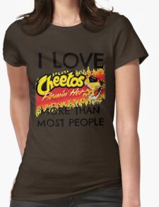 Hot Cheetos Womens Fitted T-Shirt