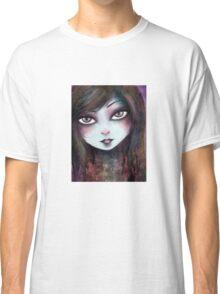 Big Eyed Girl Classic T-Shirt
