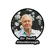 Sir David Attenborough Photographic Print