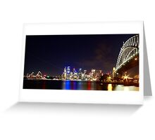 Sydney Harbour Bridge and Opera House Greeting Card