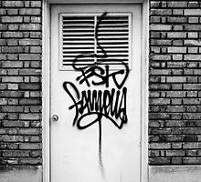 "Graffiti and Door (""Famous"")  by Paul Politis"