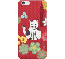 Cat and Big Ben iPhone Case/Skin