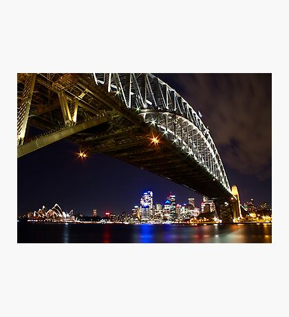 Bright Lights of Sydney Harbour Photographic Print