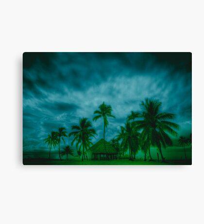 Paradise storm Canvas Print