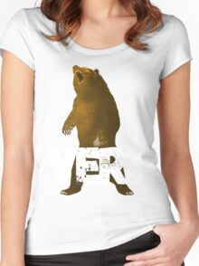 BEARVERS Women's Fitted Scoop T-Shirt
