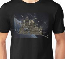Space Cat Train Unisex T-Shirt