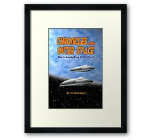 Chronicles from Outer Space book cover Framed Print