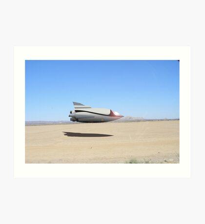Desert Landing Art Print