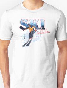 Ski Addiction Unisex T-Shirt