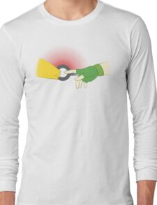 The Creation of Friendship Long Sleeve T-Shirt