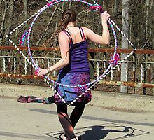 Happiness is a Handmade Hula Hoop by Nevermind the Camera Photography