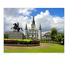 New Orleans Jackson Square Photographic Print