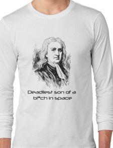 Mass Effect Isaac Newton is deadly Long Sleeve T-Shirt