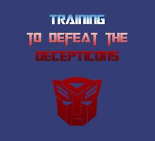 Training to Defeat the Decepticons Unisex T-Shirt