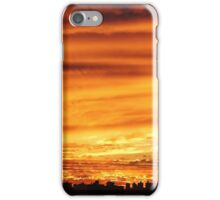 Autumn Sunset in New York City  iPhone Case/Skin