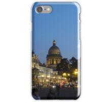 Moon over Saint Petersburg iPhone Case/Skin