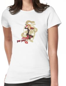 Molotov War Pin Up Bombshell Womens Fitted T-Shirt