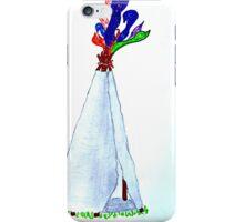 Pocahontas teepee  iPhone Case/Skin