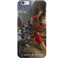 Catalina de Erauso - Rejected Princesses iPhone Case/Skin