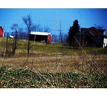 Distant Barn Photographic Print