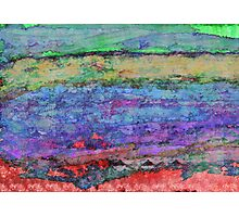 Abstract Horizontals Photographic Print