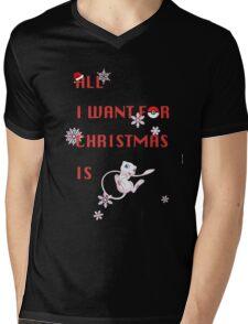 Where is Mew? Mens V-Neck T-Shirt