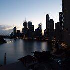 Brisbane silhouette by PhotosByG