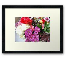 Here today,gone tomorrow.. Framed Print