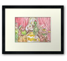 He loved it so much he married it Framed Print
