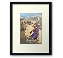 Hester Stanhope - Rejected Princesses Framed Print