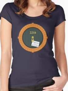221B Bag End Women's Fitted Scoop T-Shirt