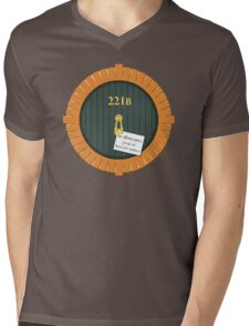221B Bag End Mens V-Neck T-Shirt
