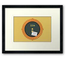 221B Bag End Framed Print