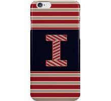 1920s Boston Monogram letter i iPhone Case/Skin