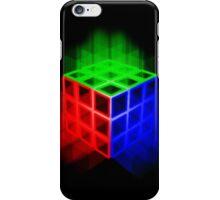 Glowing Rubix Cube iPhone Case/Skin