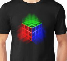 Glowing Rubix Cube Unisex T-Shirt