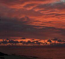 Bloody clouds by Jake Karpinski