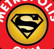 Metropolis Gym Sticker
