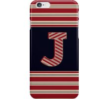 1920s Boston Monogram letter J iPhone Case/Skin